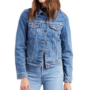 Levi's Medium Wash Vintage Trucker Denim Jacket